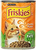 Purina 12-Pack Friskies Poultry Platter Wet Cat Food, 13-Ounce
