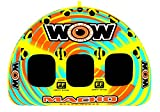 WOW World of Watersports, Macho 16-1030 1 to 3 Person Towable Tube, Multiple Riding Positions