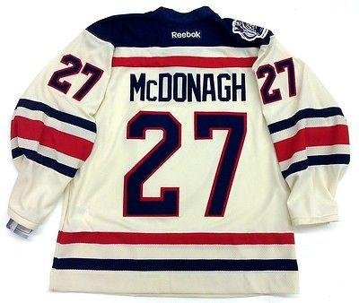 release date 72c01 3589c Ryan McDonagh Signed Jersey - Rbk Winter Classic - 5 at ...