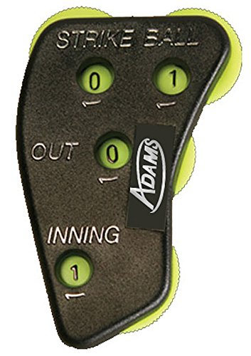 (Adams USA UMI-4-YLW Umpire Indicator Function Retail Packaged,)