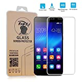 tinxi® High Transparency 0.3mm Ultra-thin 2.5D Tempered Glass Screen Protector for Huawei Honor 6 with 9H Hardness, Anti-scratch, Fingerprint Resistant