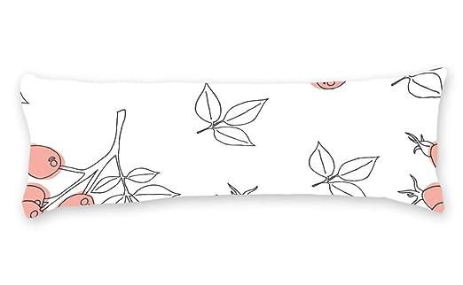 DKISEE - Funda de Almohada Decorativa con diseño Floral y ...