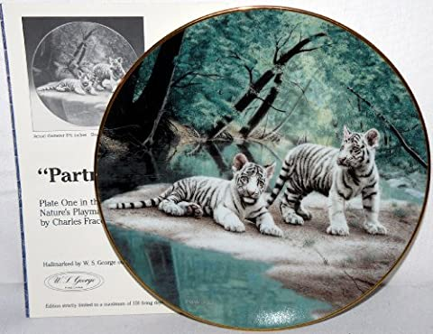 Bradford Exchange Collector Plate Tigers