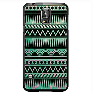 Teal Aztec Pattern Hard Snap on Phone Case (Galaxy s5 V)