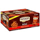 Snyder's Mini Pretzels 1.5 oz, 36-Pack