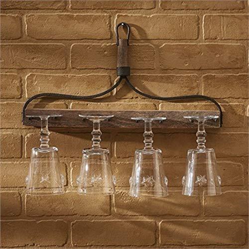 Park Designs Vintage Rake Wine Glass Holder
