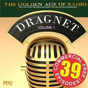 Dragnet Old Time Radio Shows, Volume 1 Radio/TV Program