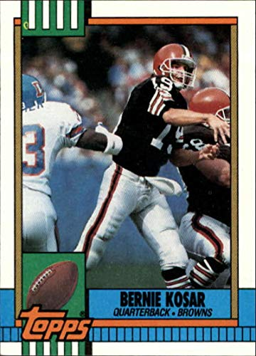 1990 Topps #163 Bernie Kosar NM-MT Cleveland Browns Officially Licensed NFL Football Trading - Card 1990 Nfl Topps