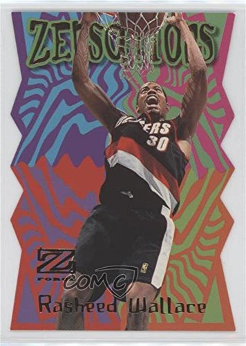 (Rasheed Wallace (Basketball Card) 1997-98 Z-Force - Zensations #24ZN)