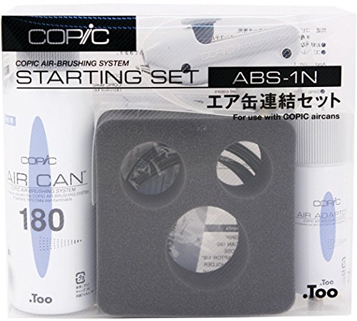 Copic Marker ABS1N Airbrush System Abs 1, Starter - Set Starter System