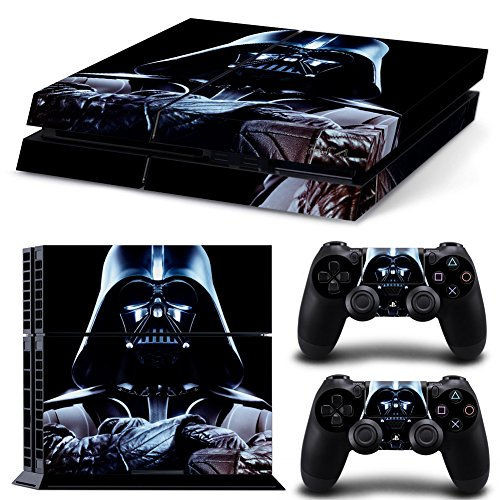 FriendlyTomato PS4 Console and DualShock 4 Controller Skin Set - Star Warrior - PlayStation 4 Vinyl VII 7