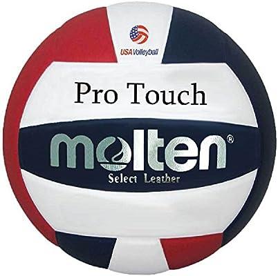 MOLTEN Pro Touch Voleibol, Color Rojo, Blanco y Azul, tamaño ...