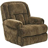 Catnapper Burns 4847 Power Dual Motor Infinate Position Full Lay Flat Lift Chair Recliner - Earth with In-Home Delivery and Setup