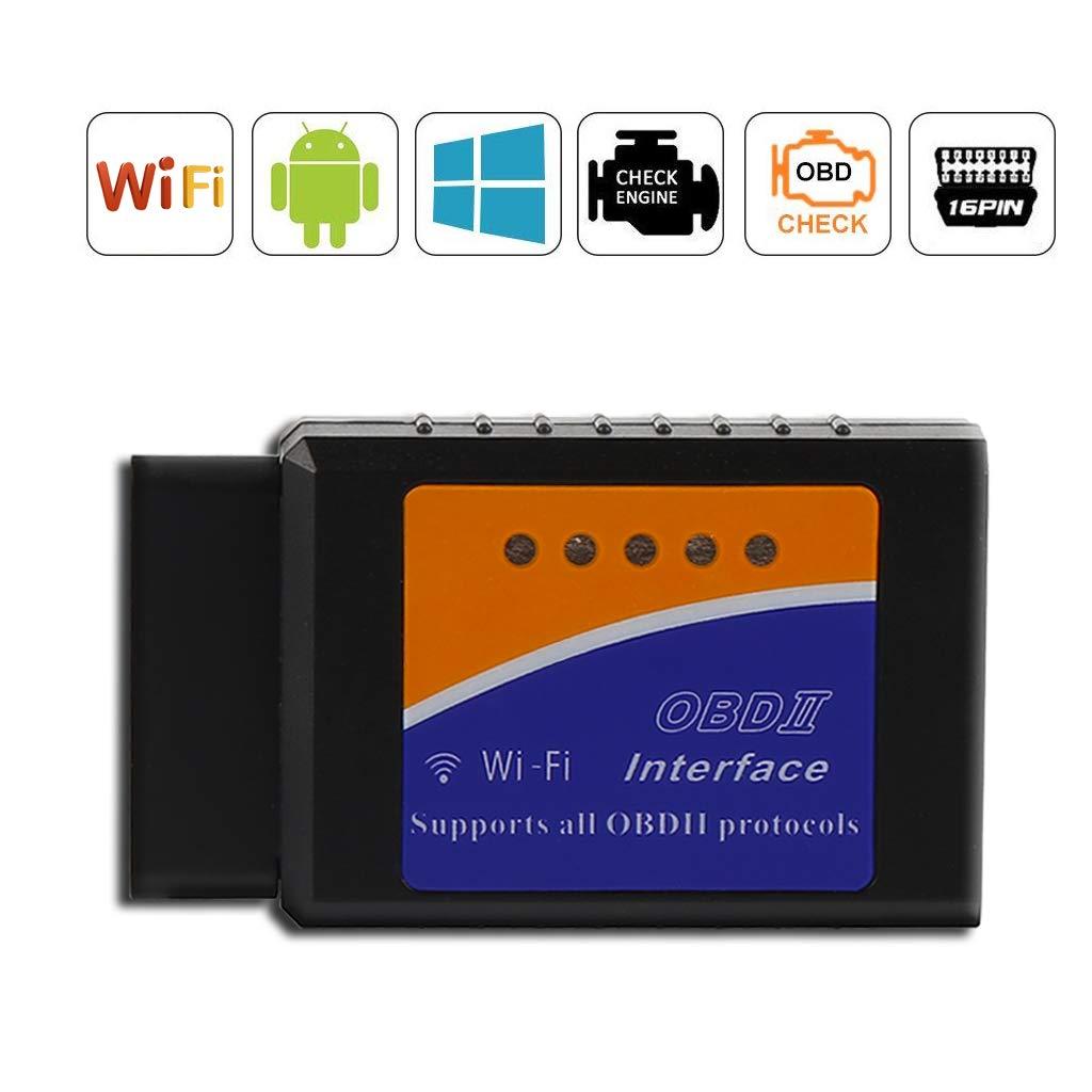 3000 Code Base de Donn/ées Mini Adaptateur sans-Fil Scanner Code de D/éfaut pour V/éhicule Mini Outils Thinkcase OBD2 Diagnostic Scanner Dautomobile ELM327 WiFi V/éhicule pannes Scanner