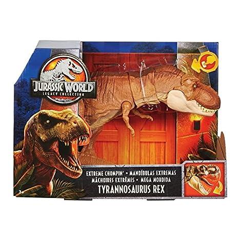 9fa8d6b55 Jurassic World Legacy Collection Extreme Chompin' Tyrannosaurus Rex:  Amazon.co.uk: Toys & Games