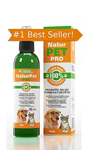 Nature's Perfect Pets Probiotic for Dogs Spray-LIFETIME GUARANTEE