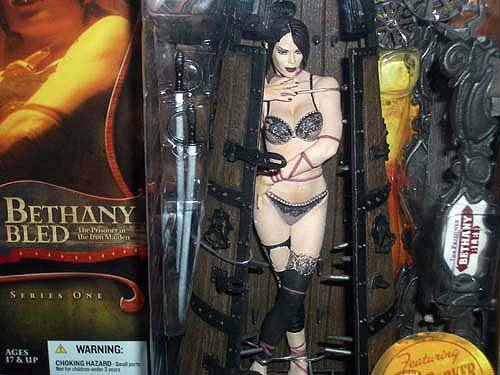 McFarlane Toys Infernal Parade: Bethany Bled the Prisner in the Iron Maiden from McFarlane
