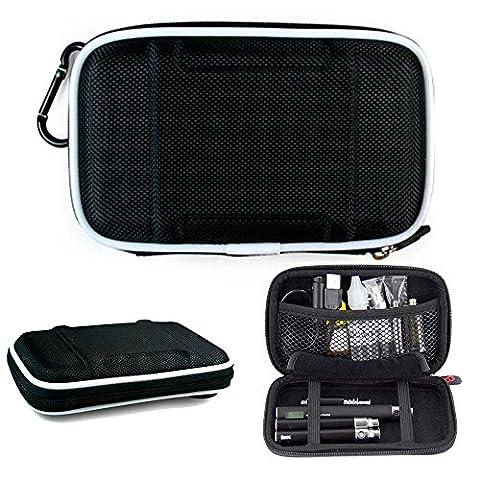 Carrying Nylon Hard Case w/precise stitching fits The V2 Pro, Vaporfi Platinum Pro,Innokin iTaste (Mods Vape Charger)