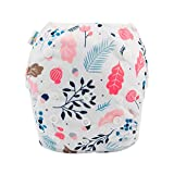babygoal Reusable Swim Diaper, One Size Adjustable and Washable Swim Underwear Fits 0-2 Years Babies and Swimming Lessons FSW10-CA