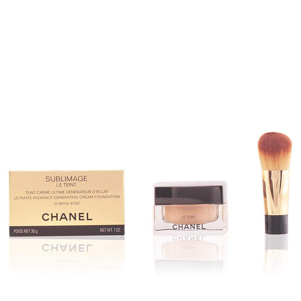 Chanel Sublimage Le Teint Background Makeup, Plus Glass Jar and Brush 30 ml