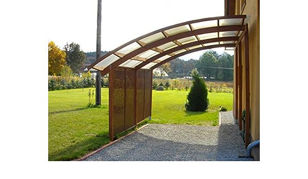 Jardín Verde - Cochera-cobertizo