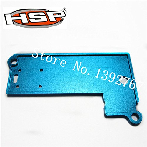 Part & Accessories KINGLINESS Upgrade Parts 286064 Alum.Battery Case Top Cover Blue For 1/16 Scale RC Nitro Power Off Road Monster Truck - Monster Rc Truck Nitro Package