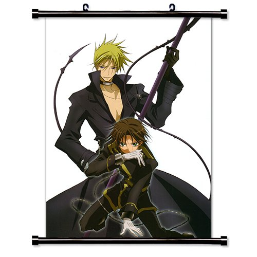 07 Ghost Anime Fabric Wall Scroll Poster  Inches