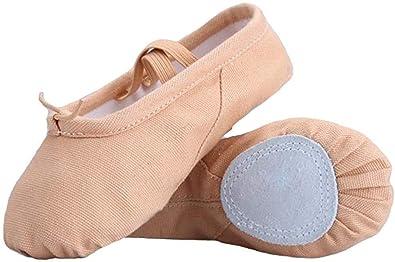Amazon.com: soocan Mujer Zapatillas de ballet zapatos de ...