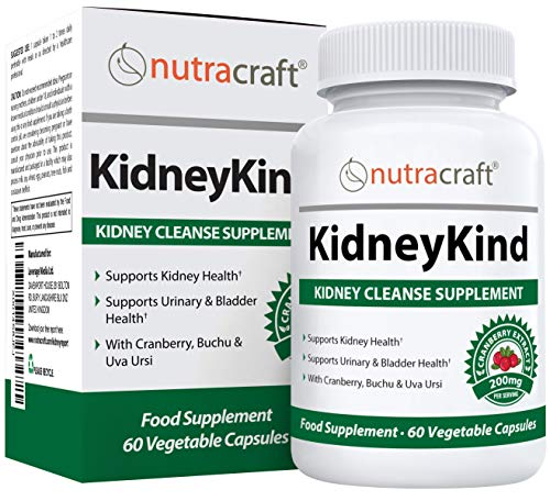 #1 Kidney Support & Detox Supplement | Natural Kidney Cleanse and Bladder Care Formula for Urinary and Kidney Health…