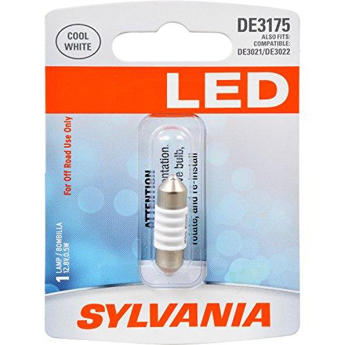 (SYLVANIA DE3175 31mm Festoon White LED Bulb, (Contains 1 Bulb))