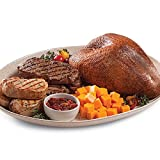 Gourmet Foods, Turkey, Steak & Chop Supreme, 4-5 lb. Smoked Turkey Breast Four 10 oz. New York Strips Four 8 oz. Boneless Pork Chops 10 oz. Cheddar Cheese 10 oz. Sweet 'N' Hot Pepper Relish
