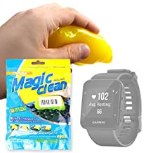 DURAGADGET Home and Office Yellow 'Magic Clean' Non-Sticky Cleansing Gel for Garmin Forerunner 10 / Forerunner 15 / Forerunner 35 / Forerunner 235 / Forerunner 735XT GPS Running Watch