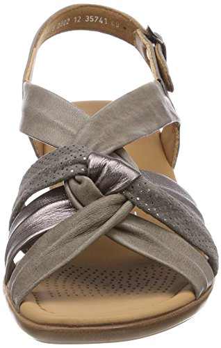 ara Lugano, Women's Heels Sandals Grey (Street 09)