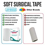 """[Pack of 4] Soft Surgical Tape 4"""" x 10"""
