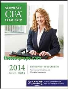 Kaplan CFA 2018 Level 2 Schweser Secret Sauce eBook Free PDF