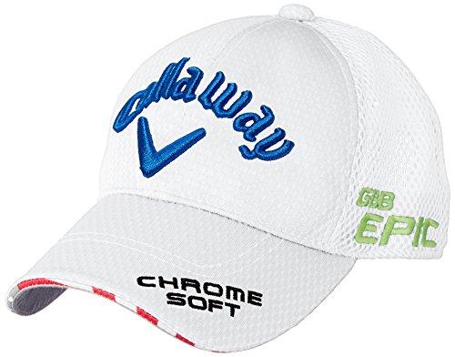 (キャロウェイ アパレル) Callaway Apparel [ メンズ] 定番 ロゴ入り キャップ (ツアーモデル) / 247-8984601 / 帽子 ゴルフ