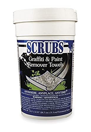 Graffiti and Paint Remover Towels