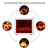GMHome Portable Insert Fireplace Heater