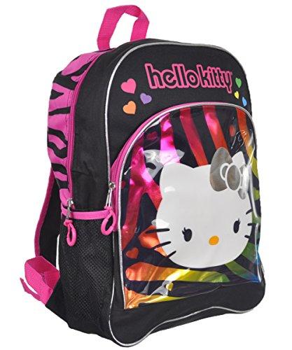 Hello Kitty Rainbow Zebra 16-inch Backpack