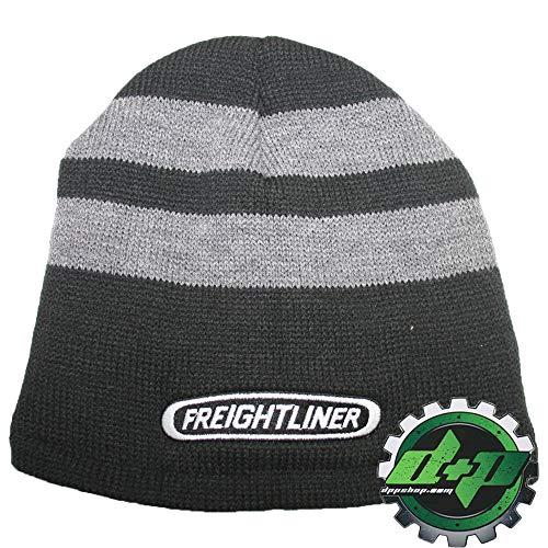 (Diesel Power Plus Freightliner Beanie Knit/Fleece Lined Stocking Cap hat Trucker ski Winter)