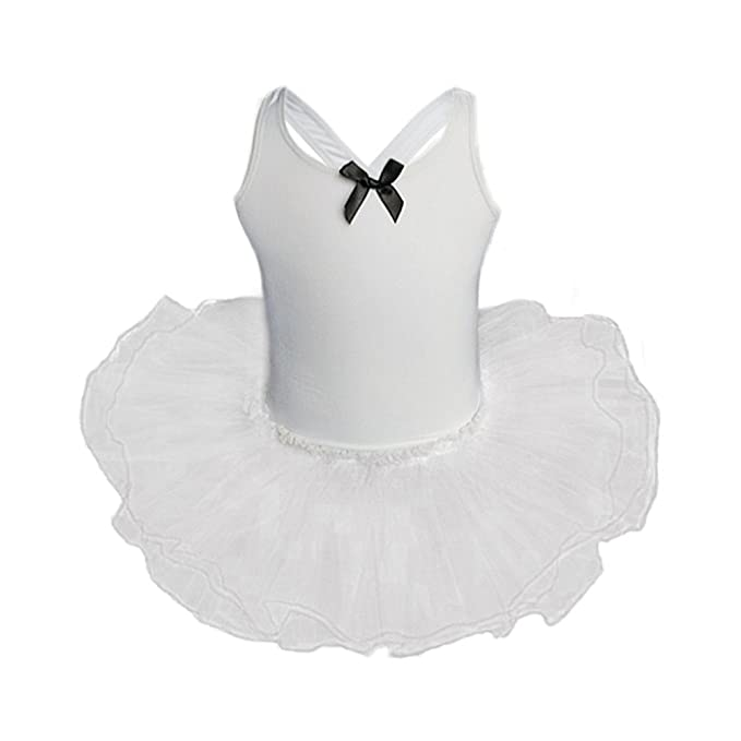 Vestido De Ballet para Niñas Falda De Encaje Ajustada Diseño Sin ...