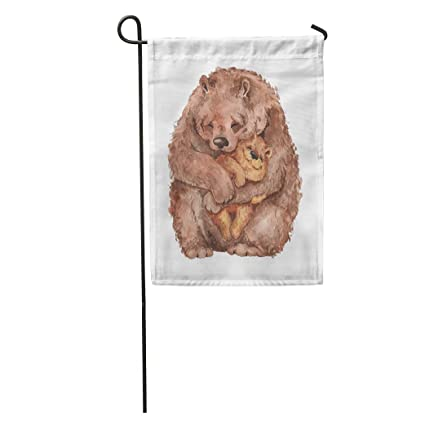 Amazon.com: Semtomn Garden Flags Parent Variation - Oso de ...