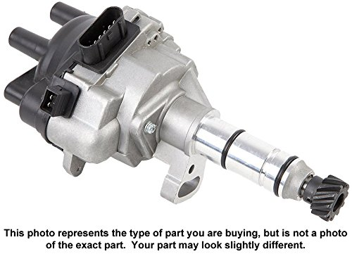 Brand New Complete Ignition Distributor W/ Cap & Rotor For Nissan Altima - BuyAutoParts 32-00046N New (Altima Distributor)
