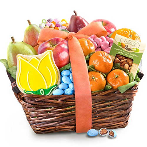 Golden State Fruit Fresh Fruit and Gourmet Treats Basket