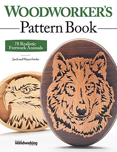 Woodworker's Pattern Book: 78 Realistic Fretwork Animals -