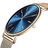 LIGE Watch for Men Women Fashion Luxury Unisex Women Men Watches Waterproof Simple