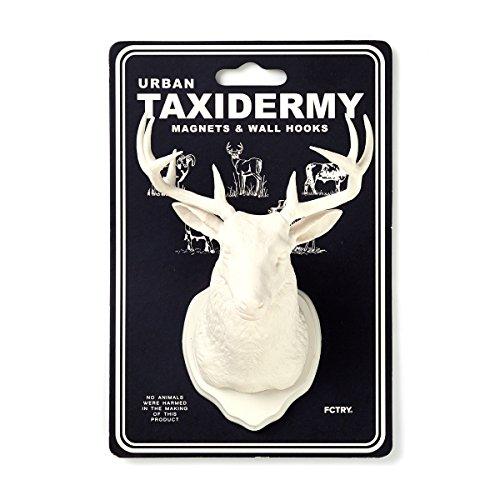 Urban Taxidermy Magnet and Wall Hook Deer - White (Tween Elsa Costume)