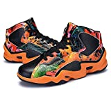 Veribuy Teen Boys Basketball Shoes Caliga Wearable Breathable Running Shoes Sneakers
