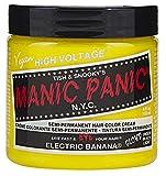 permament Manic Panic Semi-Permament Haircolor Electric Banana 4oz