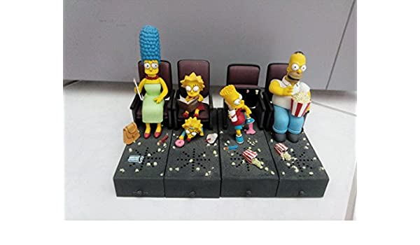 Official McFarlane The Simpsons Movie Bart Movie Mayhem ...
